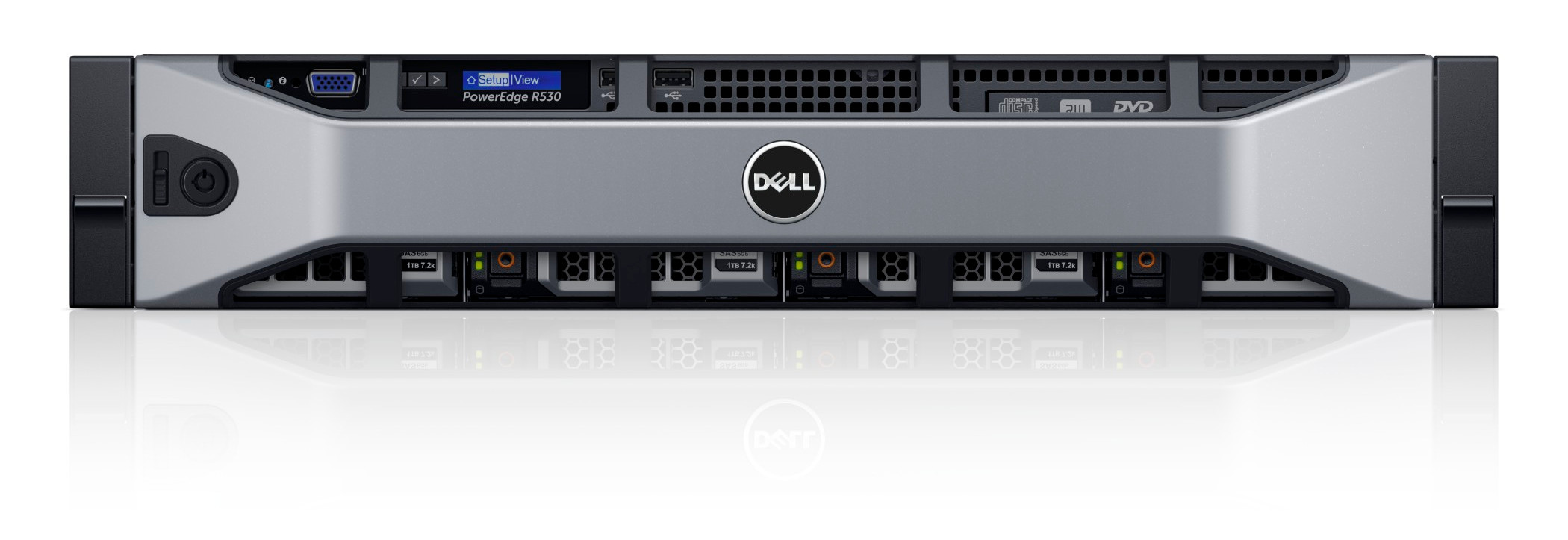 MÁY CHỦ DELL POWEREDGE R530 E5-2609V4 (8C, 20M Cache, 1.70 GHz)