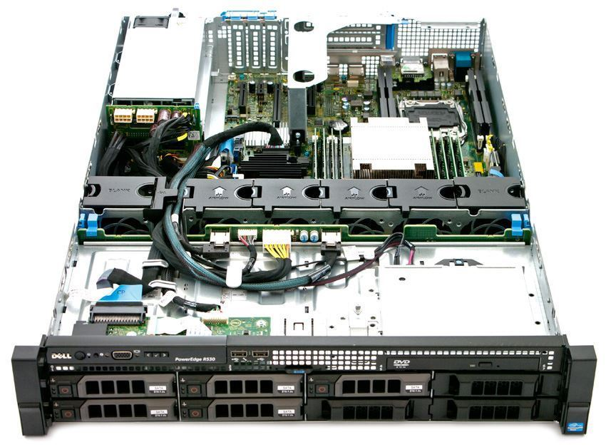 SERVER DELL POWEREDGE R530 E5-2609 V3